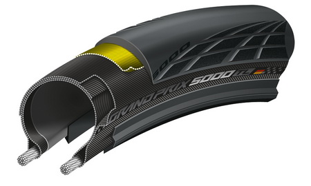 CONTINENTAL GRAND PRIX 5000 700x25 TUBELESS Διπλωτό (BK)(II)